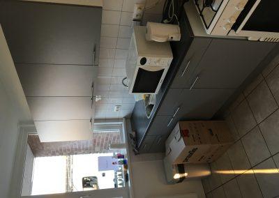 Groot onderhoud Sibeliusstraat in Leiden - keuken 1e opgeleverde woningen